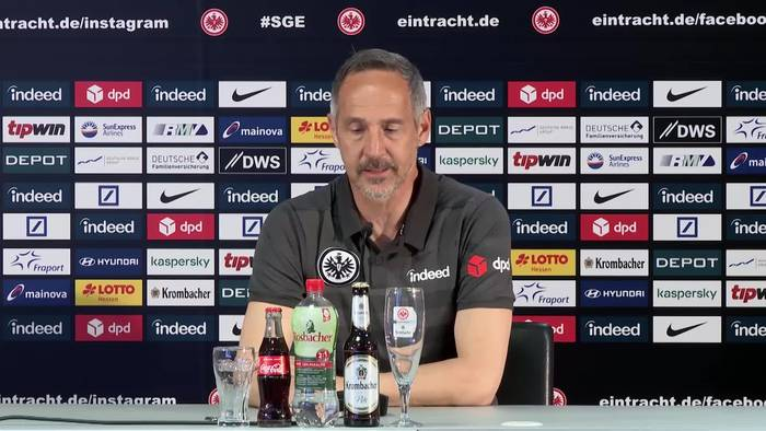 News video: Frankfurts Coach Adi Hütter: