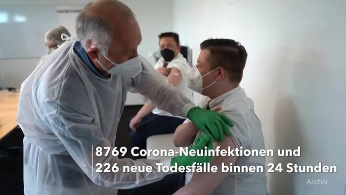 Video: Corona-Lage in Deutschland: RKI-Lagebericht vom 21. Mai