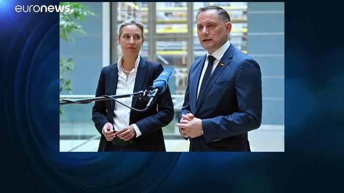 News video: AfD-Mitglieder stimmen zu 71 % für Weidel und Chrupalla als Spitzenduo