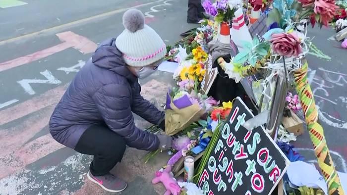 News video: 1 Jahr danach: Polizeireform soll nach George Floyd benannt werden