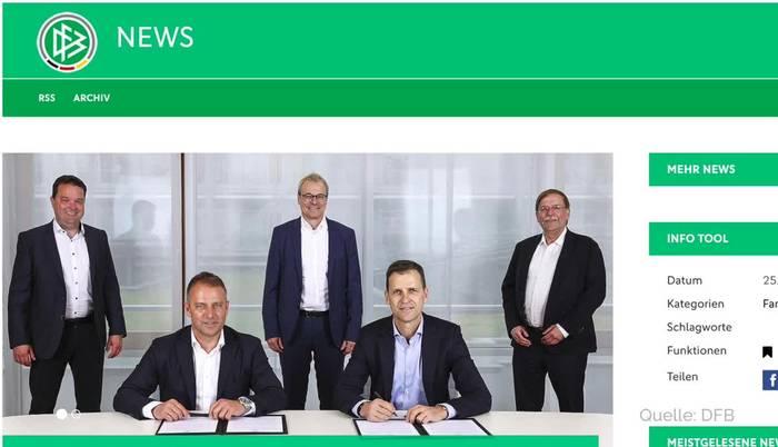 Video: Löw-Nachfolge: Hansi Flick wird nach EM Bundestrainer