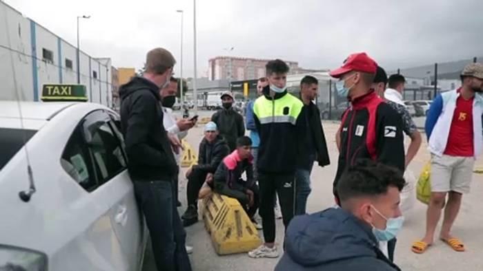 News video: Ceuta: Kinder und ihre Hoffnung auf Europa