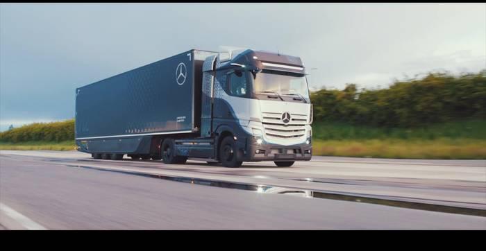 Video: Daimler Trucks - Next level GenH2 Truck