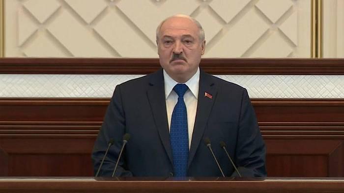 News video: Lukaschenko spricht von