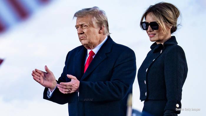 News video: Melania & Donald Trump: Rekord-Ausgaben für Security