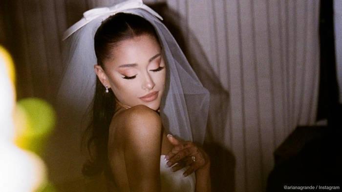 News video: Ariana Grande: Die ersten Hochzeitsfotos sind da!