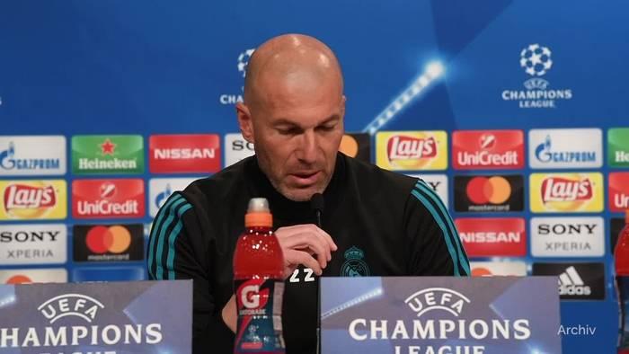 Video: Trainer Zidane verlässt Real Madrid