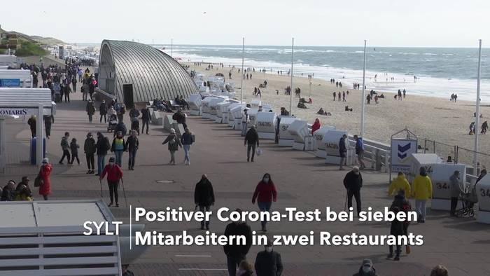 News video: Sylt: Gut 1100 Kontakte nach Infektionen in zwei Restaurants