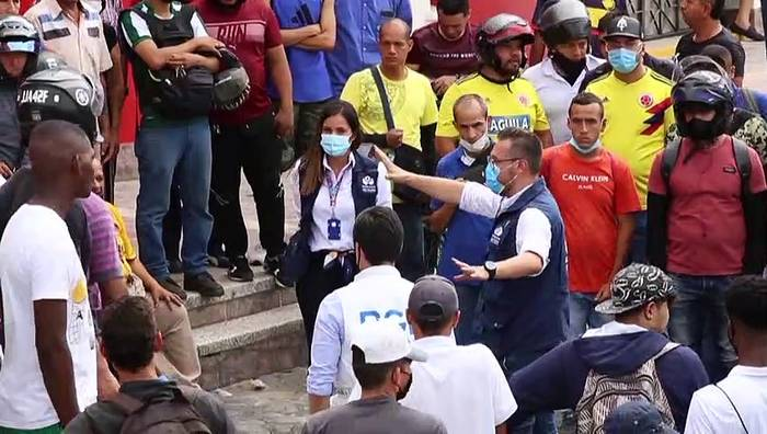 News video: Ein Monat soziale Proteste in Kolumbien - erneut Tote