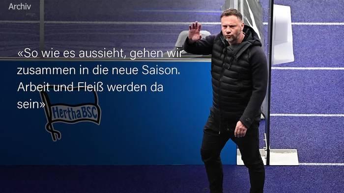 News video: Pal Dardai weiter Chefcoach von Hertha BSC