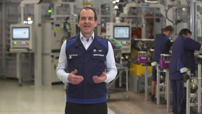 News video: Produktion des hochintegrierten E-Antriebs der 5. Generation - Michael Nikolaides, Leiter Produktionsmotoren und E-Drives, BMW G
