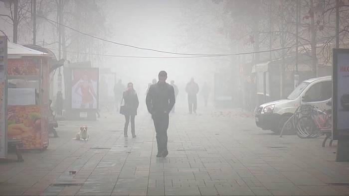 News video: Dicke Suppe: Skopje und die Luftverschmutzung