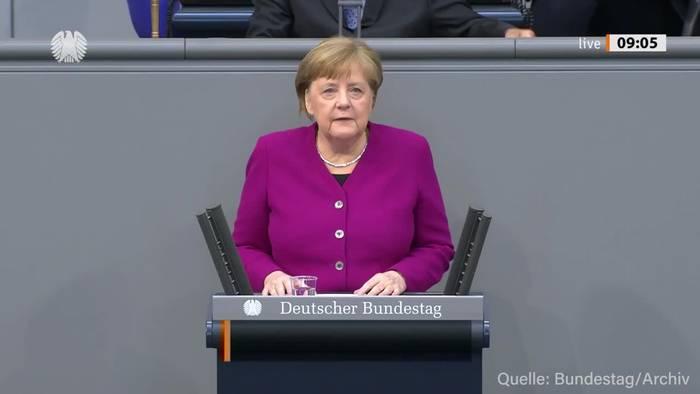 News video: Merkel: Bundes-Notbremse gegen Corona kann auslaufen