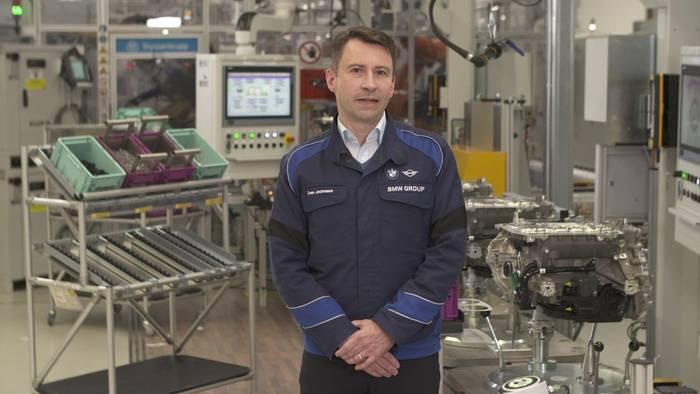 News video: Produktion des hochintegrierten E-Antriebs der 5. Generation - Sven Jochmann