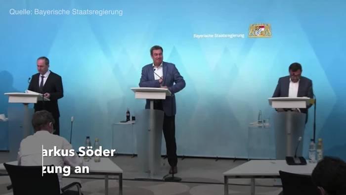 News video: Bayern lockert Corona-Maßnahmen deutlich