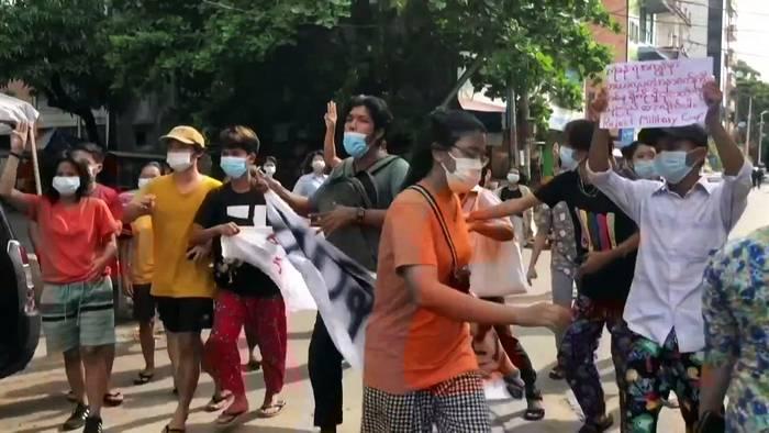 News video: Flashmob für die Demokratie