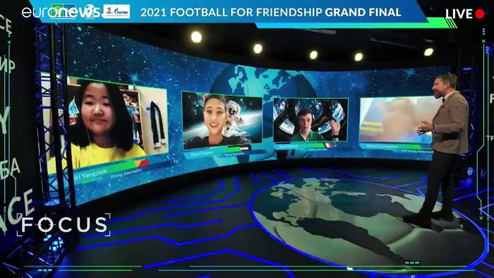 News video: Wenn auch nur virtuell: Football For Friendship boomt