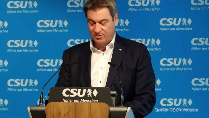 Video: Söder zu Sachsen-Anhalt: Reiner Haseloff war der Matchwinner