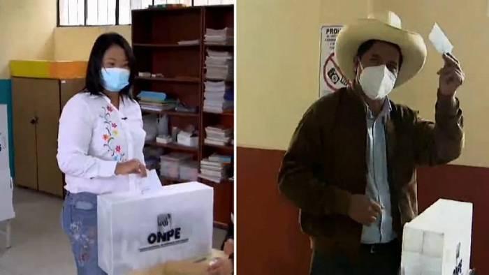 News video: Stichwahl in Peru: Hauchdünner Vorsprung für Keiko Fujimori