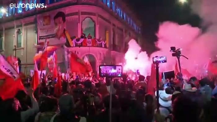 News video: Patt bei Stichwahl: Kandidatin Fujimori deutet Manipulationen an