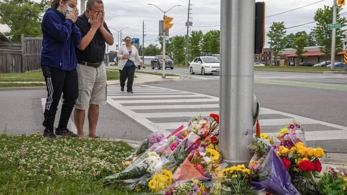 Schock über 4 Tote in Kanada: Gezielt muslimische Familie überfahren