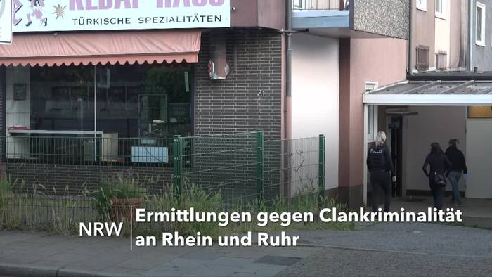 News video: Razzien gegen Clankriminalität an Rhein und Ruhr