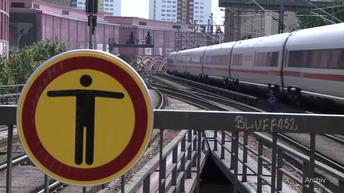 News video: Bahn-Gewerkschaft kündigt Arbeitskampf an