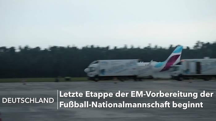 News video: EM-Elf in Franken angekommen: Feinschliff im Home Ground