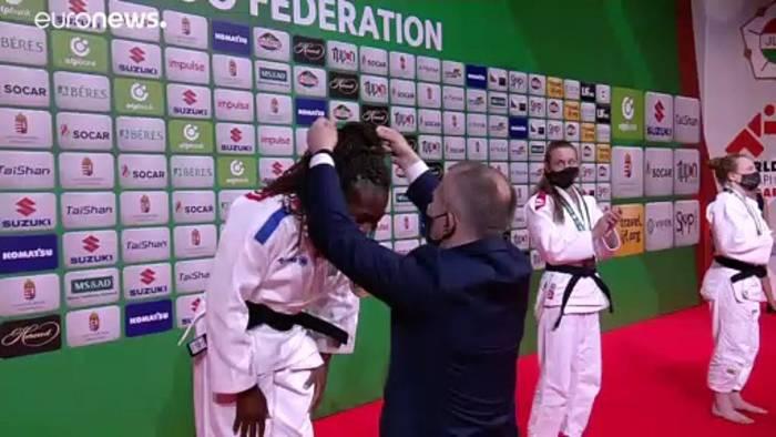 News video: Europa liegt vorn an Tag 4 der Judo-WM in Budapest