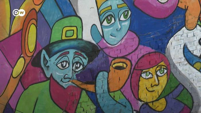 News video: Graffiti-Tourismus in Bukarest