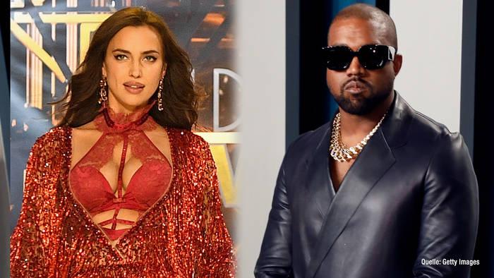 Video: Kanye West & Irina Shayk: Turtelnd in Frankreich gesichtet?