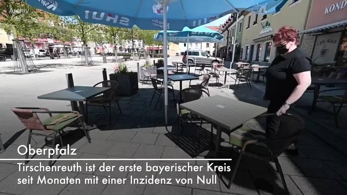 Video: RKI meldet Inzidenz von Null für Tirschenreuth