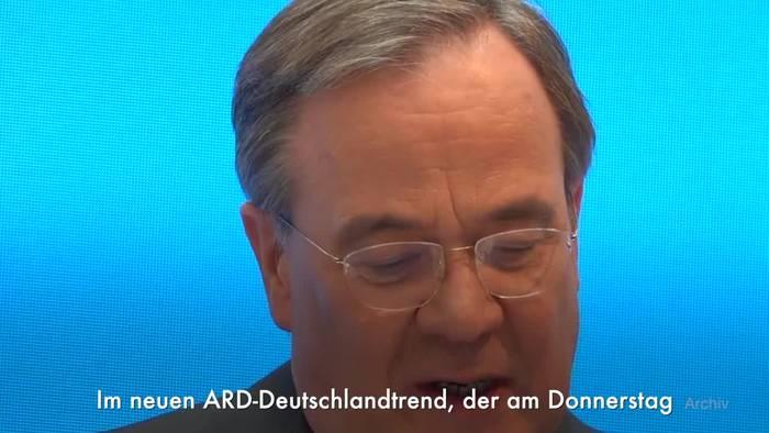 Video: ARD-Deutschlandtrend: Union in Umfrage wieder vorn