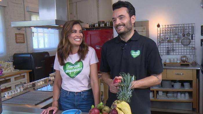 Video: Giovanni & Jana Ina Zarrella gemeinsam im Einsatz für den Tierschutz