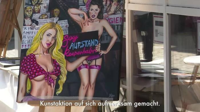 News video: Kunst auf der roten Meile: Herbertstraße kurz für alle offen