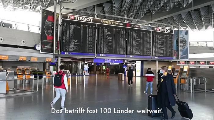 News video: Bundesregierung hebt Reisewarnung für Auslandsreisen auf