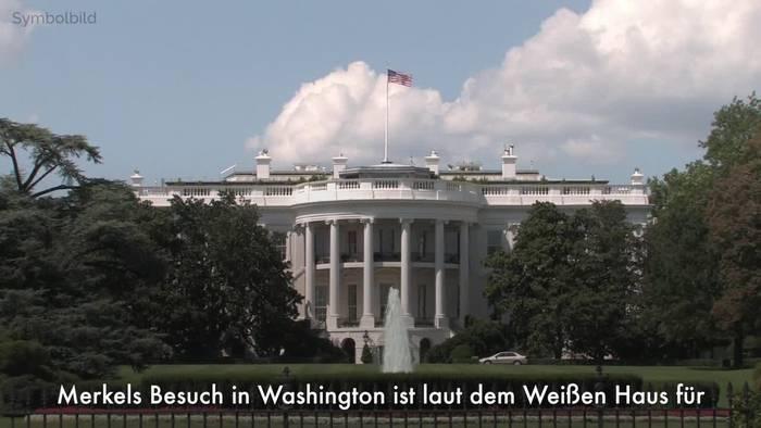News video: Merkel besucht Biden am 15. Juli im Weißen Haus