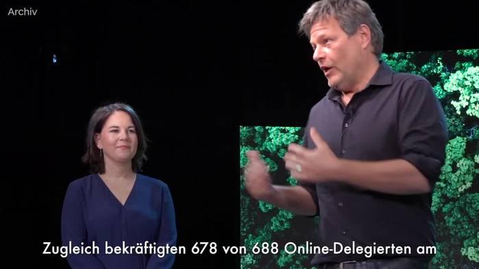 News video: Annalena Baerbock als Grünen-Kanzlerkandidatin bestätigt