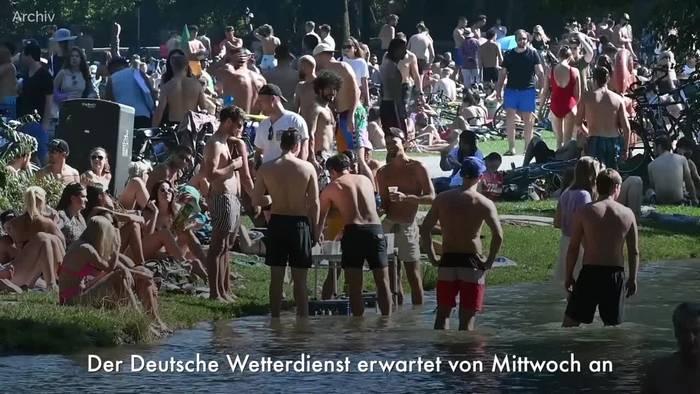 News video: 35 Grad und Tropennächte - Sommer pur in der nächsten Woche