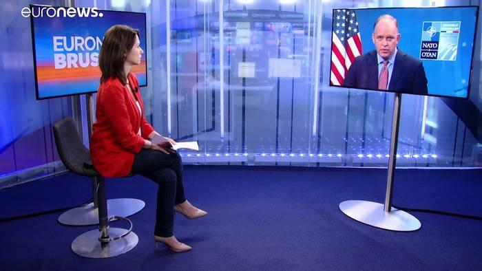 News video: NATO-Gipfel: Nach Trump-Trauma der Biden-Beifall