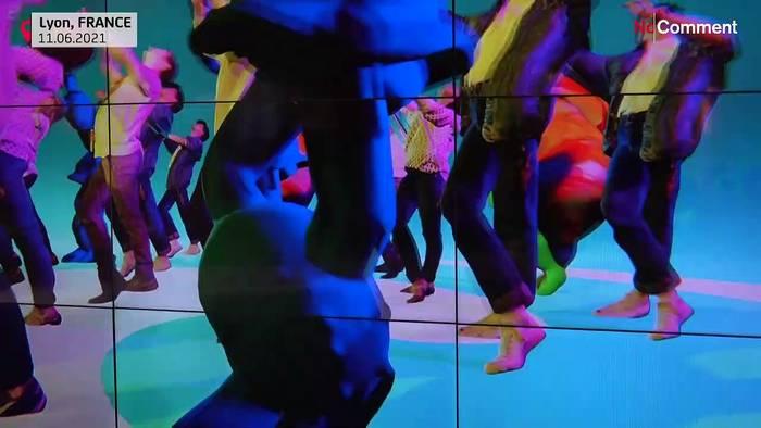 News video: Tanzbiennale in Lyon