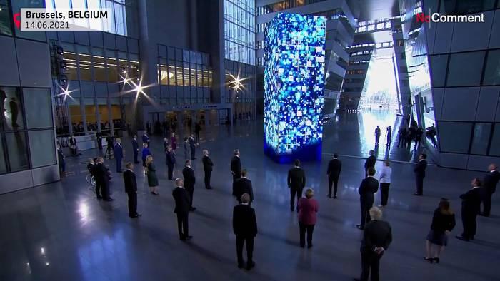 News video: Spaciger Neustart mit Biden: Nato-Gipfel in Brüssel