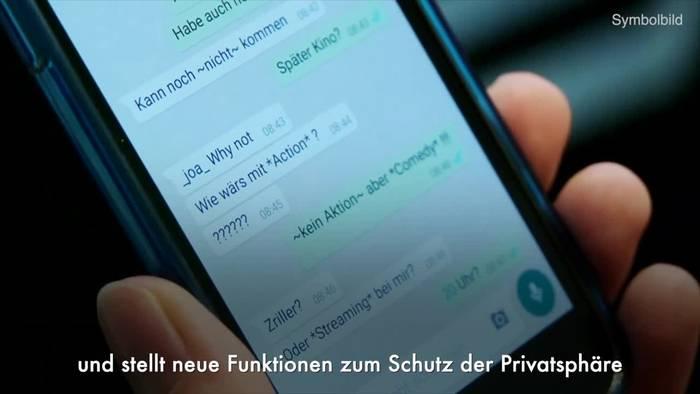 News video: WhatsApp kündigt selbst löschende Nachrichten an