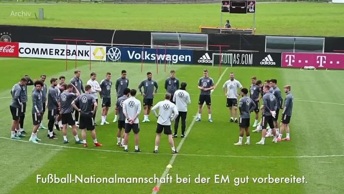 News video: Söder: EM-Spiele in München «mit gutem Gewissen genießen»