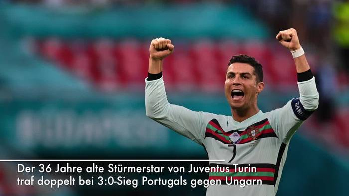 Video: Cristiano Ronaldo alleiniger EM-Rekordtorjäger