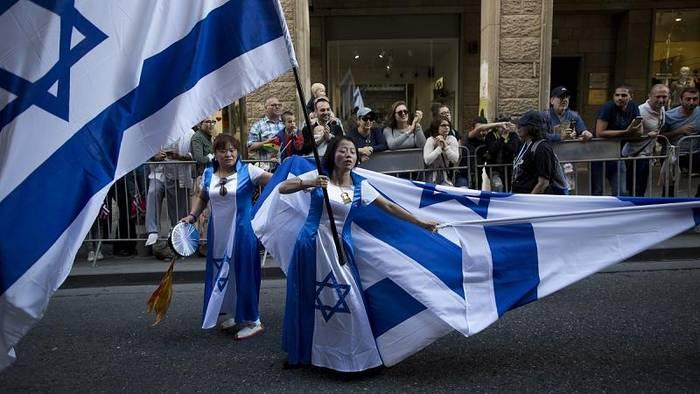 News video: Umstrittener Flaggenmarsch - Nationalisten ziehen durch Jerusalem