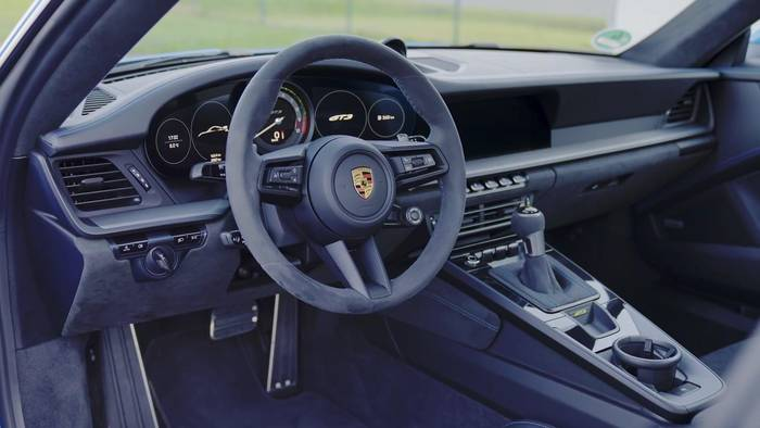 News video: Das Interieur des neuen Porsche 911 GT3