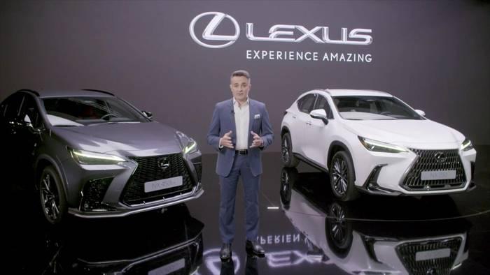 News video: Neuer Lexus NX feiert Weltpremiere