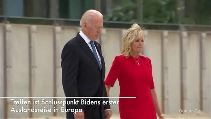 News video: Genf: Biden und Putin kommen zu ihrem ersten Gipfel zusammen