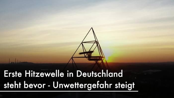 News video: Erste Hitzewelle im Anmarsch - 37 Grad erwartet